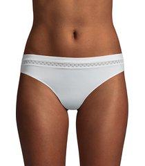 le mystere foundations the modern bikini briefs - black - size l/xl