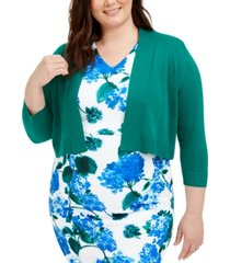 calvin klein plus size basic solid shrug