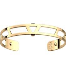 les georgettes by altesse triangular openwork extra-thin adjustable cuff bracelet