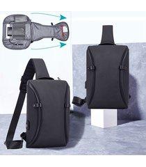 tracolla casual oxford per grandi capacità borsa tracolla borsa per uomo borsa per uomo