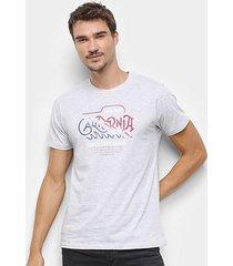 camiseta gajang santa cruz beach masculina - masculino