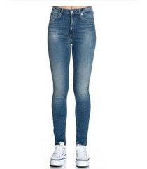 jean azul calvin klein spodnie