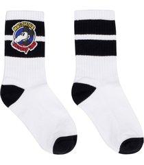 moschino cotton sport socks