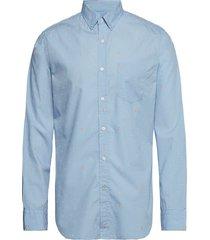 standard-fit luxe poplin shirt skjorta business blå banana republic