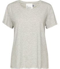 09 the otee t-shirts & tops short-sleeved grå denim hunter