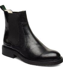 boots shoes boots chelsea boots ankle boots flat heel svart billi bi