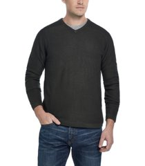 weatherproof vintage men's soft touch v-neck sweater