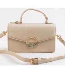 ramona top handle satchel - ivory