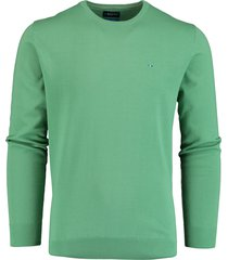 bos bright blue rince ronde hals trui groen 21105ri01bo/315 reseda