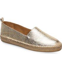espadrilles 4301 sandaletter expadrilles låga guld billi bi