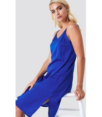 rut&circle philippa strap dress - blue