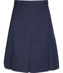 falda 6 tablones colegio azul marino kotting