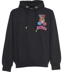 barrow black hoodie with print
