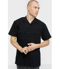 jack & jones jcomono shirt ss worker skjortor svart