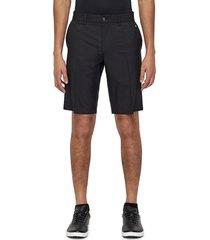 j. lindeberg men's solid golf shorts - navy - size 30