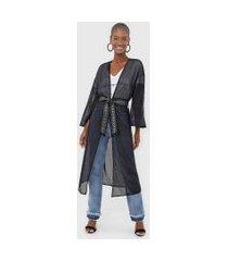 kimono my favorite thing(s) tela preto