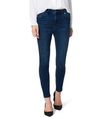 women's sam edelman the stiletto ankle skinny jeans, size 28 - blue