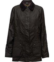 barbour classic beadnell wax jacket kviltad jacka svart barbour