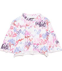 minazio graffiti sweatshirt in multicolor