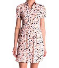 kocca stevige polyester stretch blouse jurk valt 1 maat kleiner