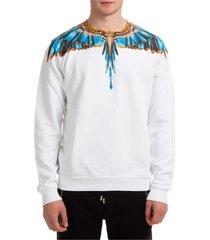 marcelo burlon grizzly wings sweatshirt