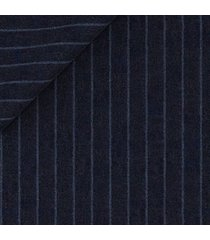 blazer da uomo su misura, lanificio zignone, leggerissimo blu gessato, primavera estate | lanieri