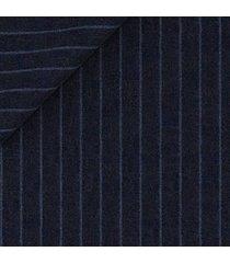 giacca da uomo su misura, lanificio zignone, leggerissimo blu gessata, primavera estate | lanieri