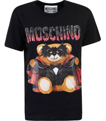 moschino teddy bat printed t-shirt