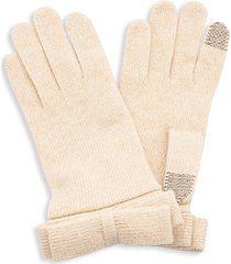 nuvola tech-touch knit gloves