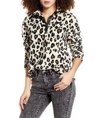 women's socialite faux fur pullover