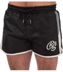 crosshatch mens barli shorts size s in black