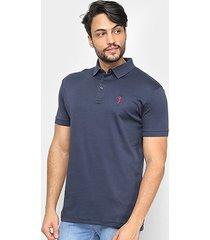 camisa polo aleatory algodão pima masculina