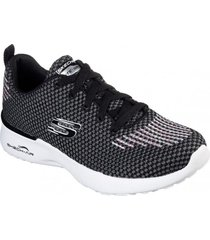zapatos mujer  skech-air dynamight negro skechers