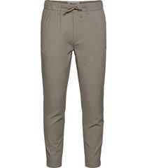 akjens elastic pants casual byxor vardsgsbyxor grå anerkjendt