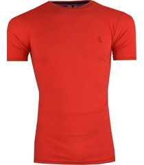 camisa rutra t-shirt lisa vermelha - vermelho - masculino - algodã£o - dafiti