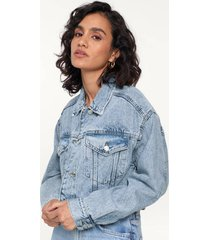 jeansjacka cropped denim jacket