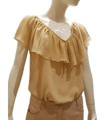 blusa camel pinksisly s45