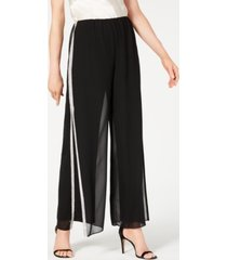 28th & park rhinestone-trim wide-leg pants, created for macy's