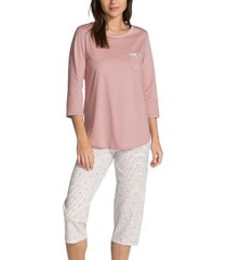 calida sweet dreams crop pyjama