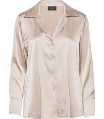 3176 - adal blouse lange mouwen crème sand