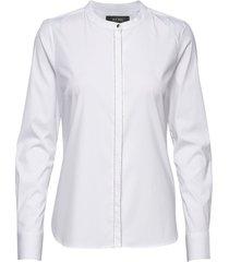 maggie chain shirt overhemd met lange mouwen wit mos mosh
