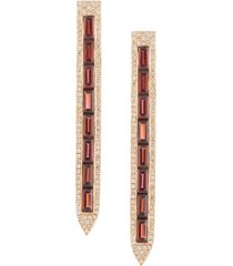 ralph masri pointed drop earring - gold