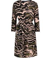 klänning objbay 3/4 dress aop seasonal