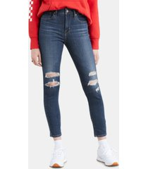 levi's women's 721 ankle high-rise skinny jeans