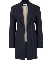 fluid tailored blazer