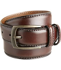 joseph abboud burgundy dress belt