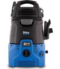 lavadora de alta pressão e aspirador philco 2 em 1 plas4000 127v