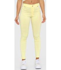 pantalón amarillo positana milano