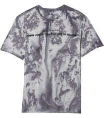 camiseta john john rg stained future malha algodão roxo masculina (potent purple, gg)