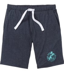 shorts in jersey con stampa (blu) - bpc bonprix collection
